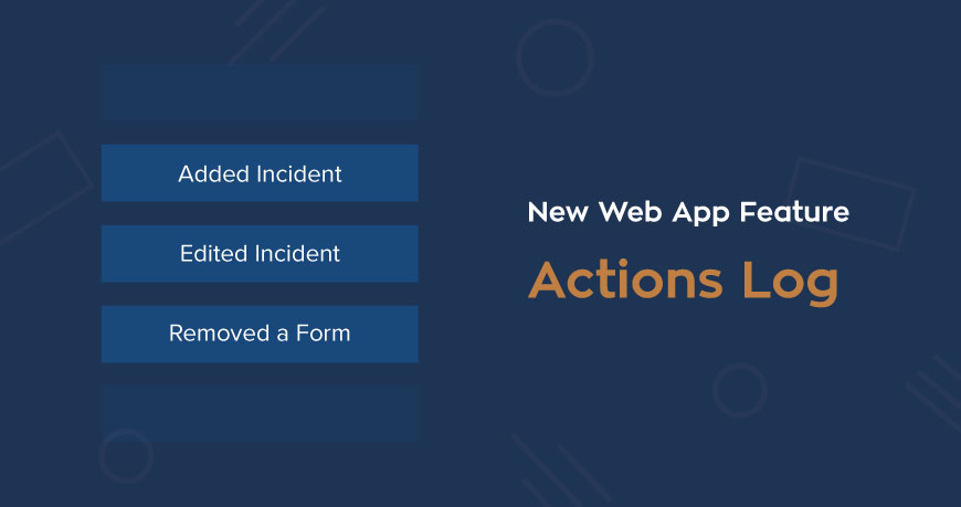 Introducing the new Actions Log feature in the web application!!!