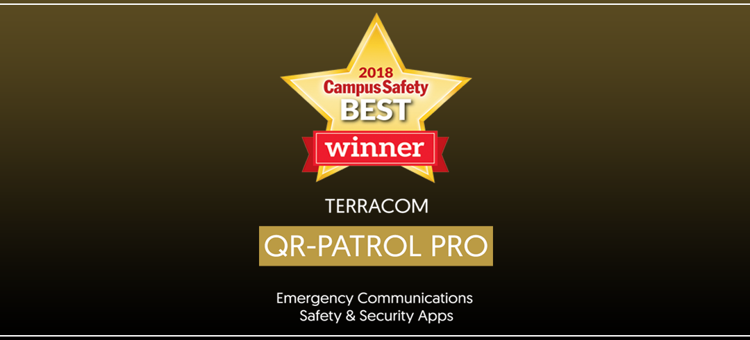 QR-Patrol PRO wins Campus Safety BEST Award 2018
