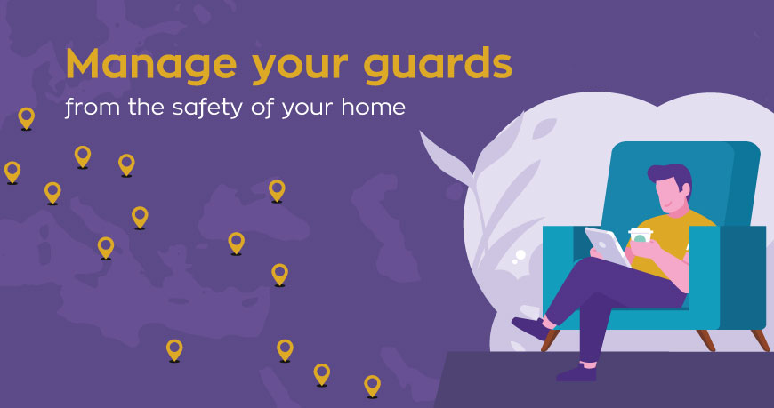 QR-Patrol empowers you to fully manage your patrol operations from the safety of your home!
