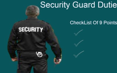 Security Guard Duties::: 9 Points CheckList