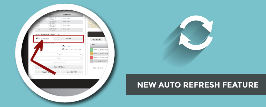 New Auto Refresh Feature!
