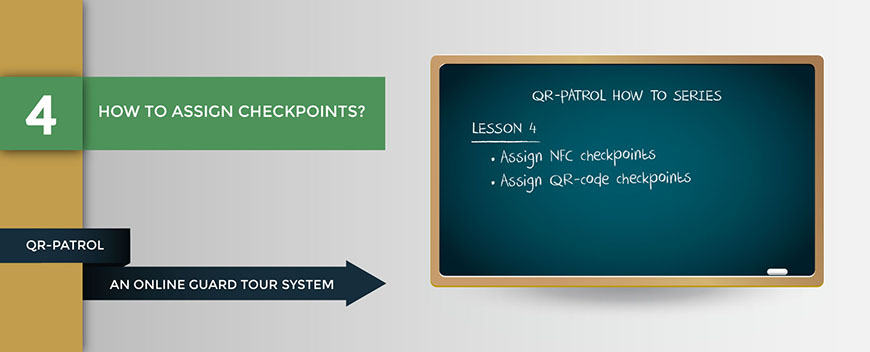 How to assign checkpoints
