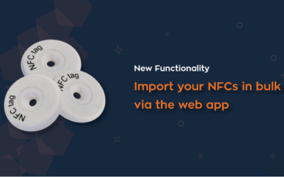 New: Import your NFCs in bulk via the web app