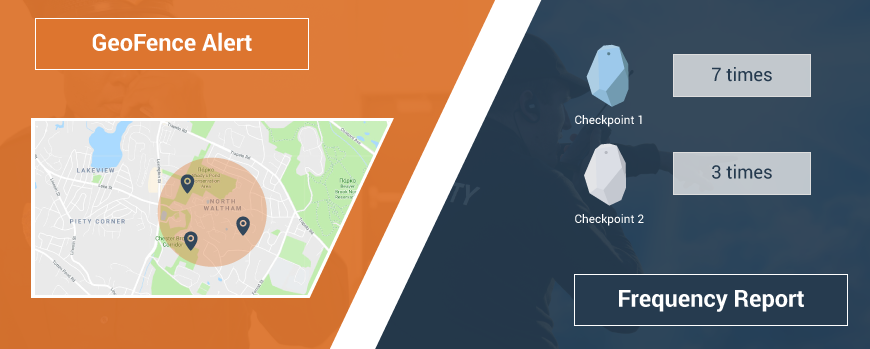 New features added: Geofence Alert and Frequency reports!