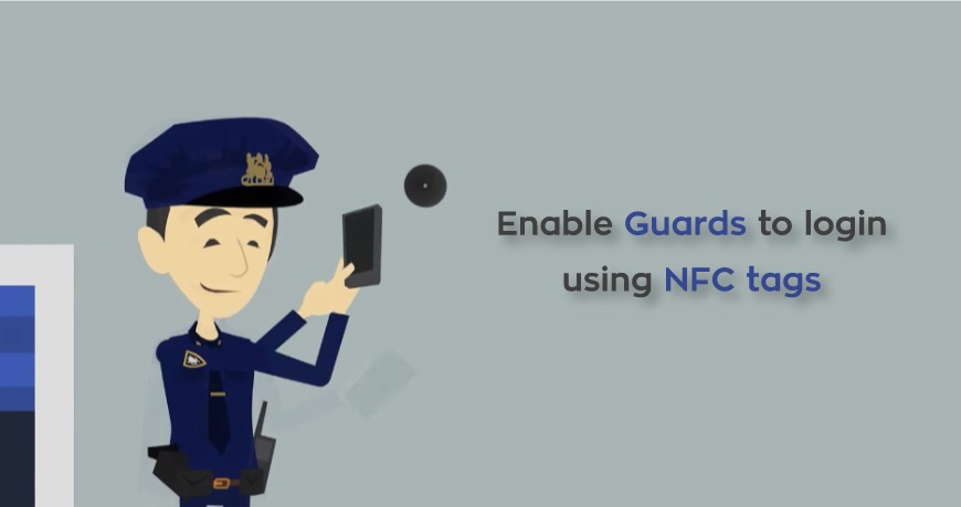 Enable Guards to login using NFC tags!!!